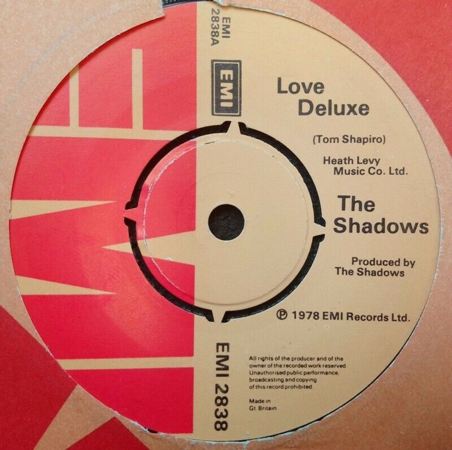 The Shadows - Love Deluxe - 7