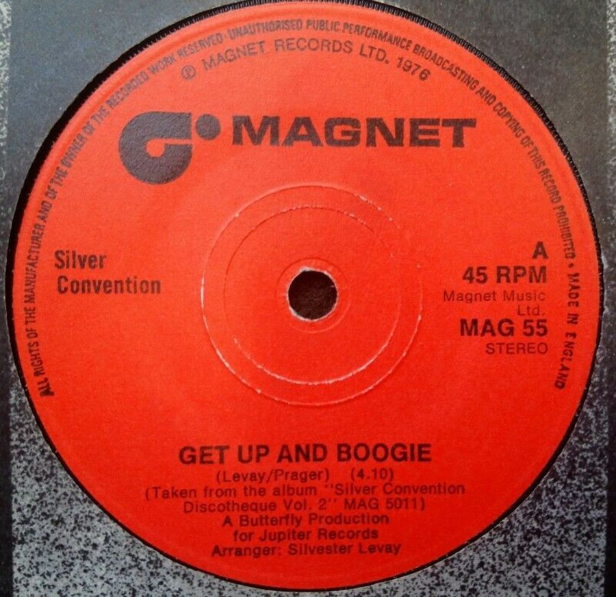 Silver Convention - Get Up And Boogie - Vinyl Record 45 RPM
