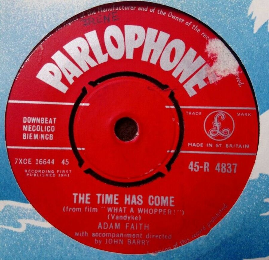 Adam Faith - The Times Has Come / A Help Each Other Romance - 7