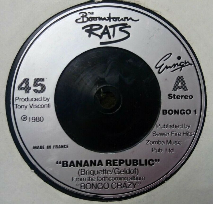 Boomtown Rats - Banana Republic - 7