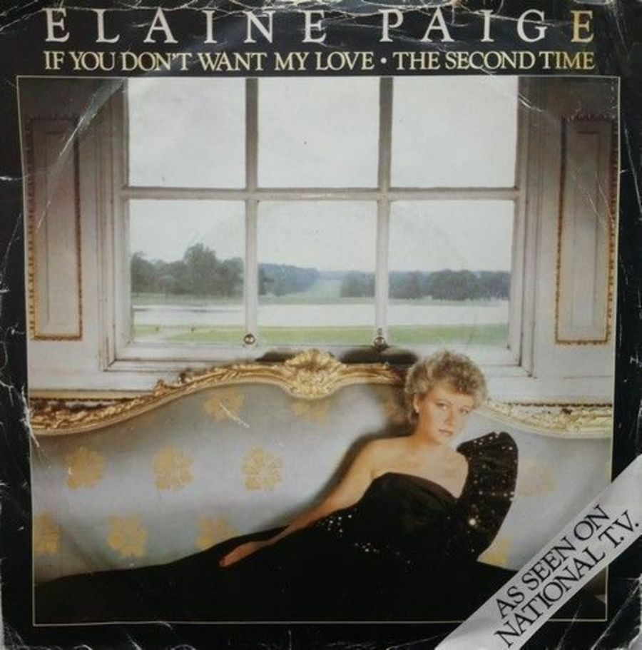 Elaine Paige - If You Don't Want My Love - Vinyl Record 7
