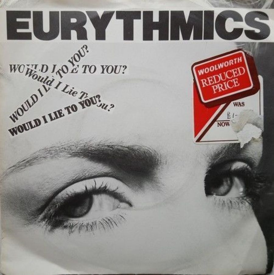 Eurythmics - Would I Lie To You - Vinyl Record 7