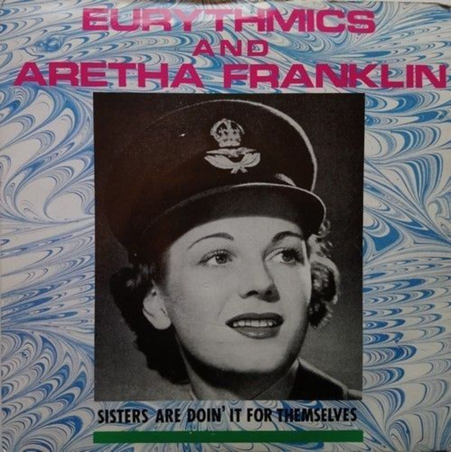 Eurythmics - Sisters Are Doin' It For Themselves - Vinyl Record 7