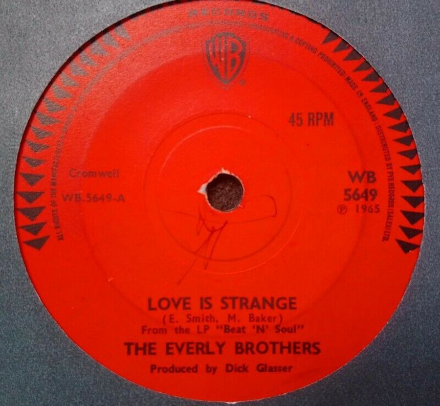 The Everly Brothers - Love Is Strange - 7