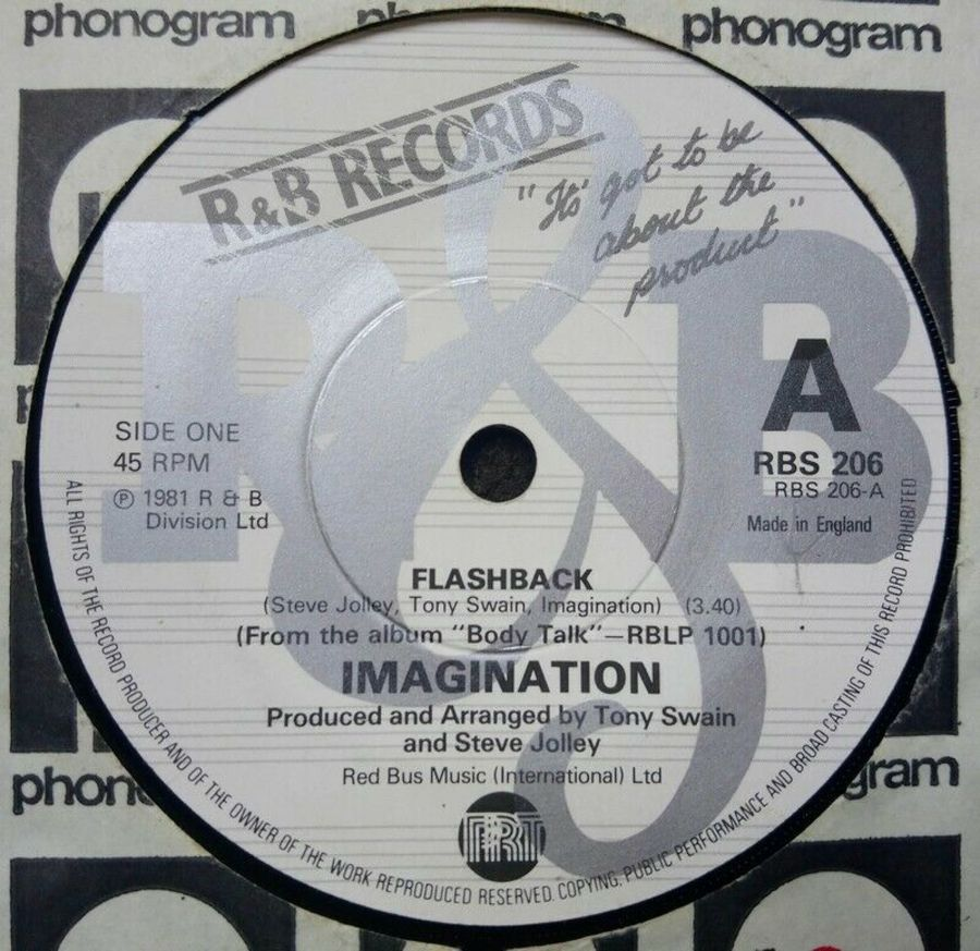 Imagination - Flashback - Vinyl Record