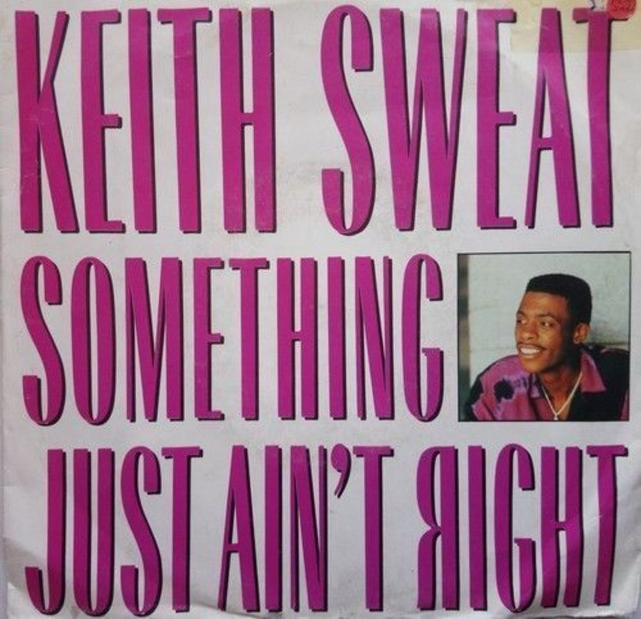 Keith Sweat - Something Just Ain't Right - Vinyl Record 7