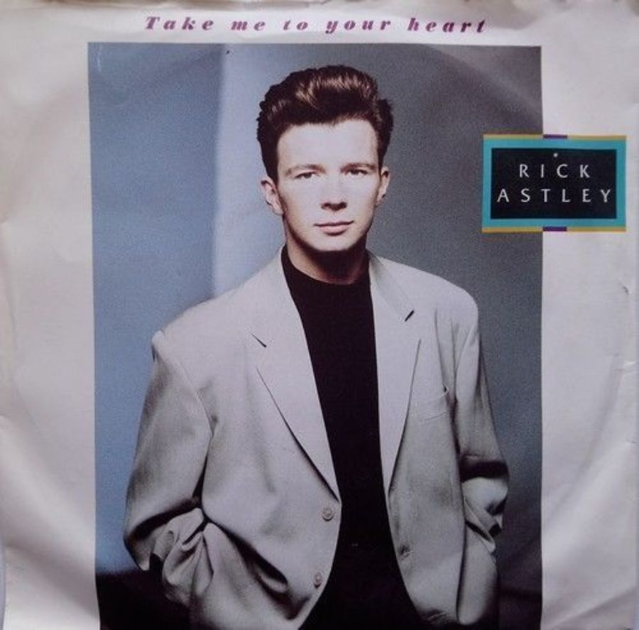 Rick Astley - Take Me To Your Heart - Vinyl Record 7