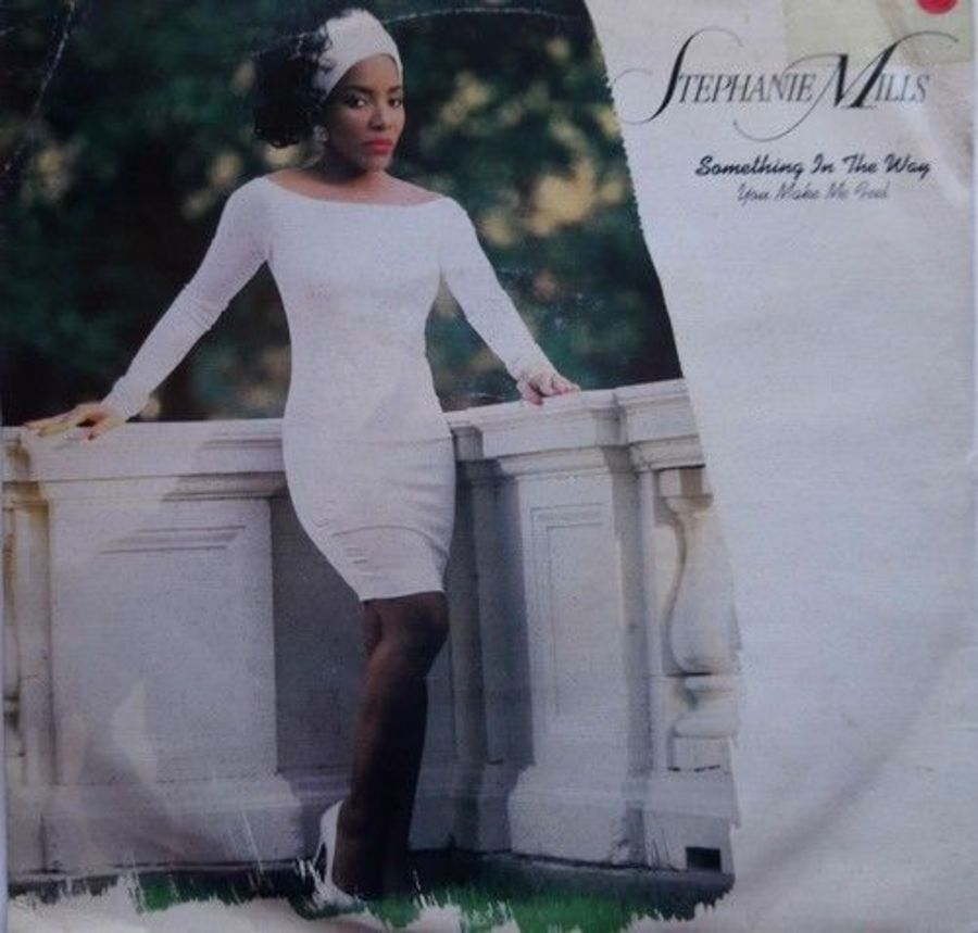 Stephanie Mills - Something In The Way You Make Me Feel - Vinyl Record 7