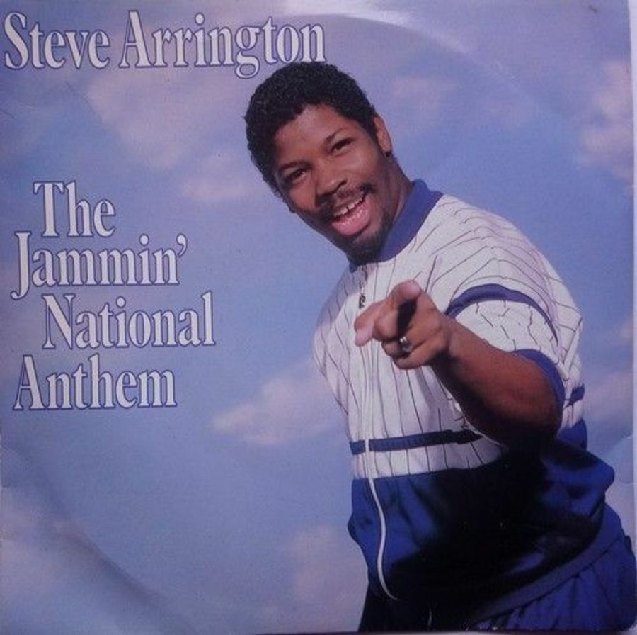 Steve Arrington - The Jammin; National Anthem - Vinyl Record 7