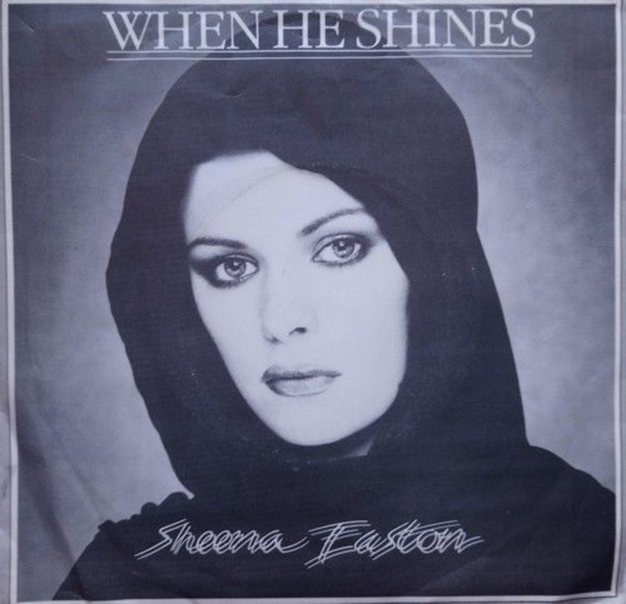 Sheena Easton - When He Shines - Vinyl Record 7