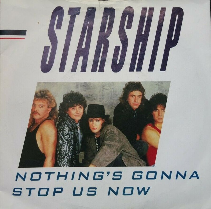 Starship - Nothing's Gonna Stop Us Now - Vinyl Record 7