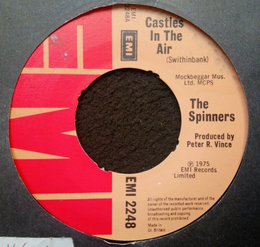 The Spinners - Castles In The Air - Vinyl Record 7