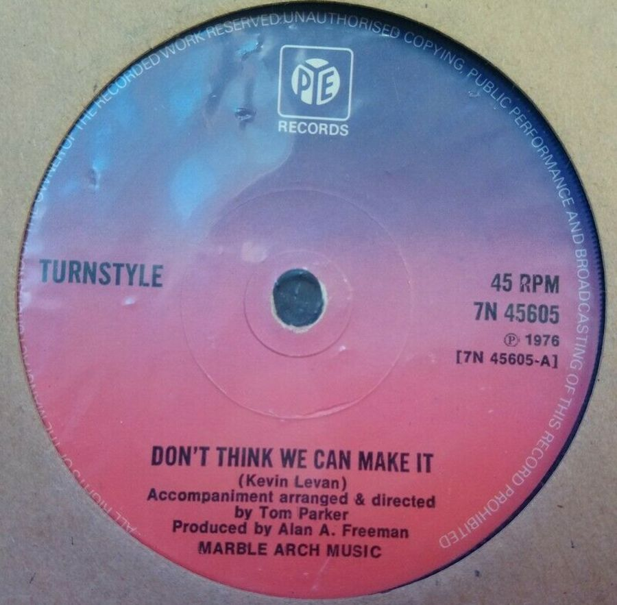 Turnstyle - Don't think We Can Make It - 7