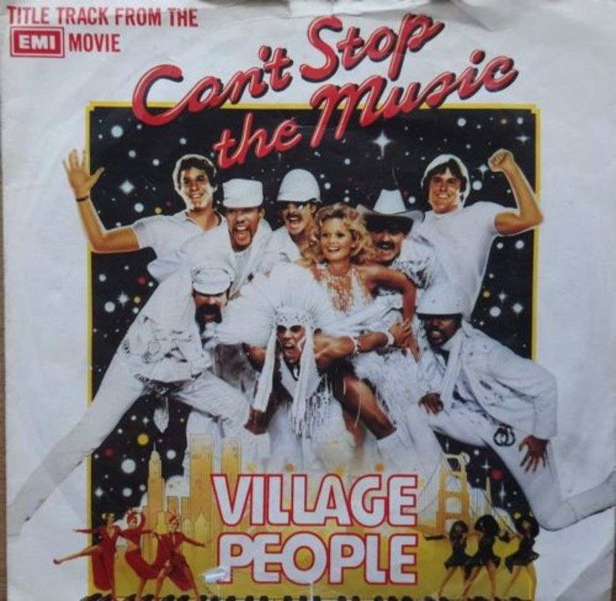 Village People - Can't Stop The Music - Vinyl Record 7