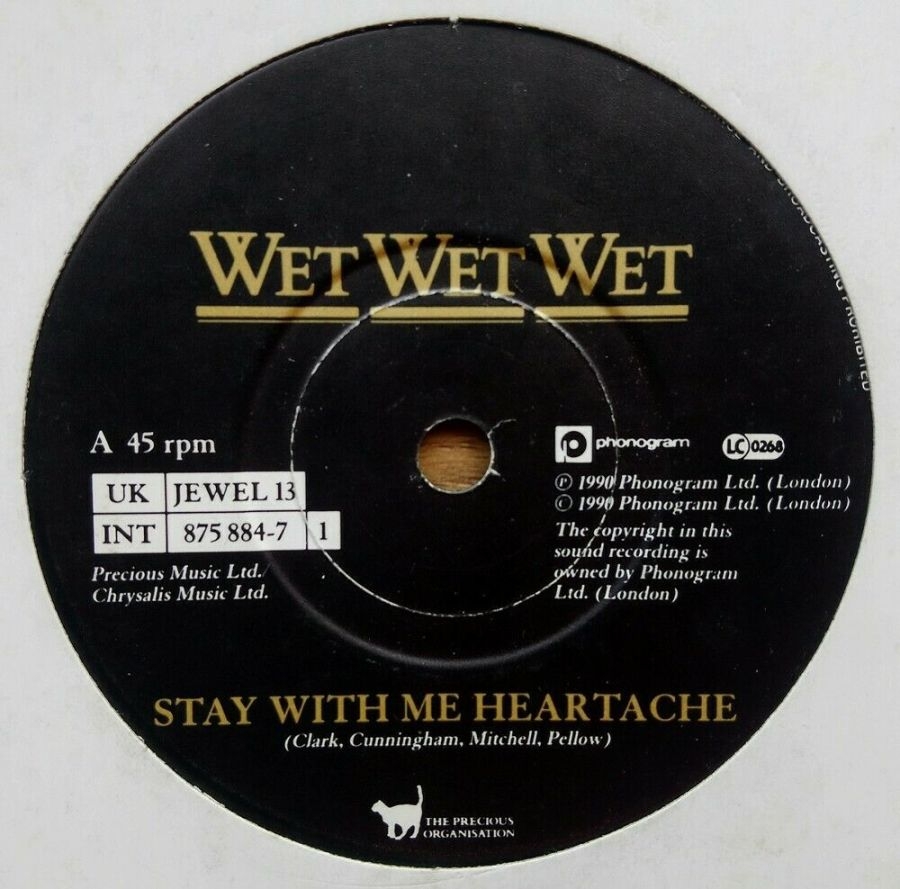 Wet Wet Wet - Stay With Me Heartache - 7