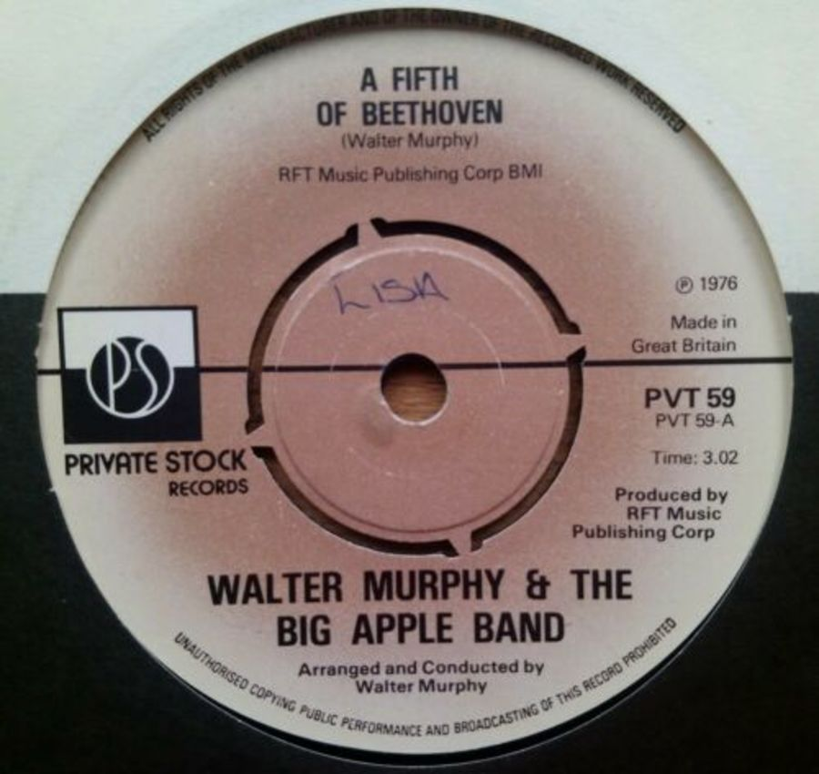 Walter Murphy & The Big Apple Band - A Fifth Of Beeth - 7