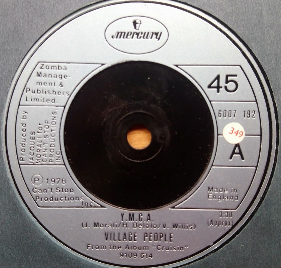 Village People - Y.M.C.A - Vinyl Record 7