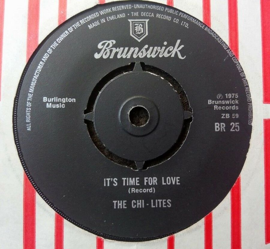 The Chi-lites - It's Time For Love - 7