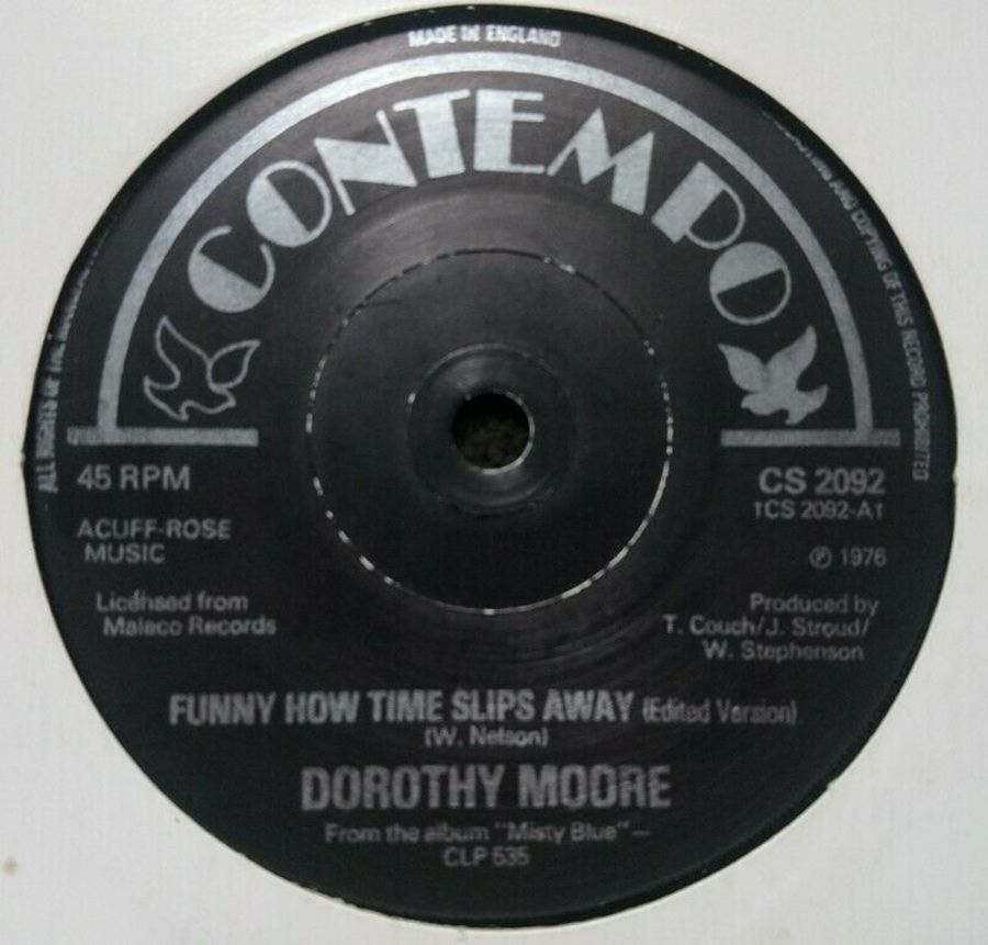 Dorothy Moore - Funny How Time Slips Away - Vinyl Record 7