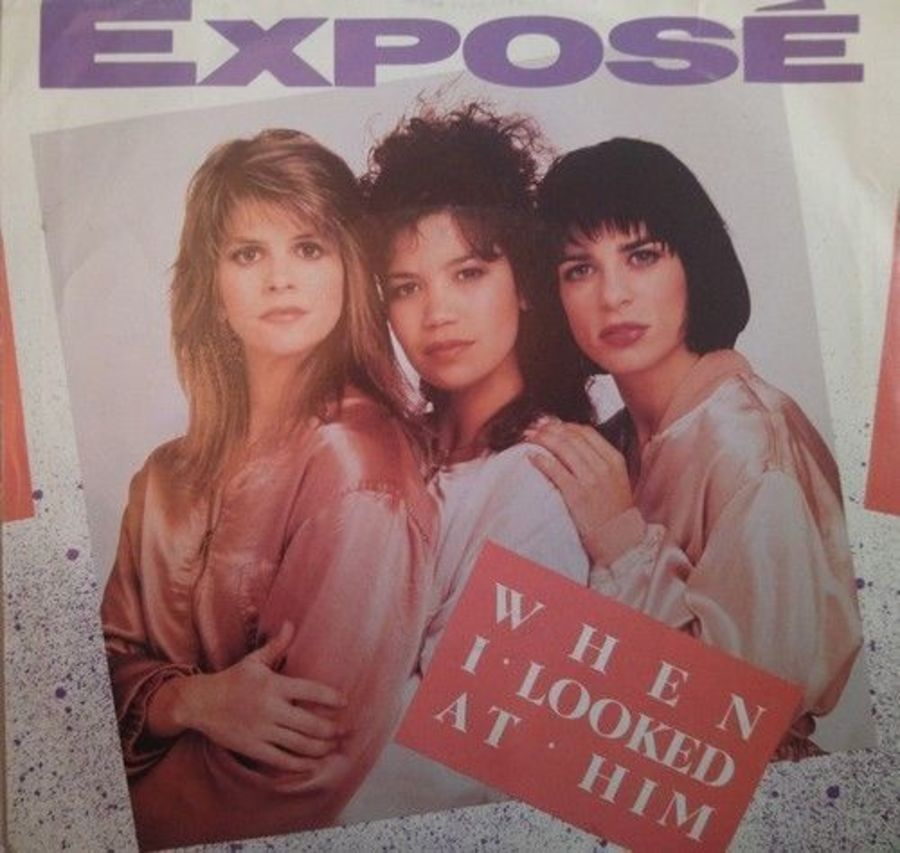 Expose - When I Looked At Him - Vinyl Record 7