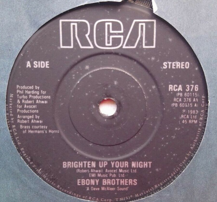 Ebony Brothers - Brighten Up Your Night - 7