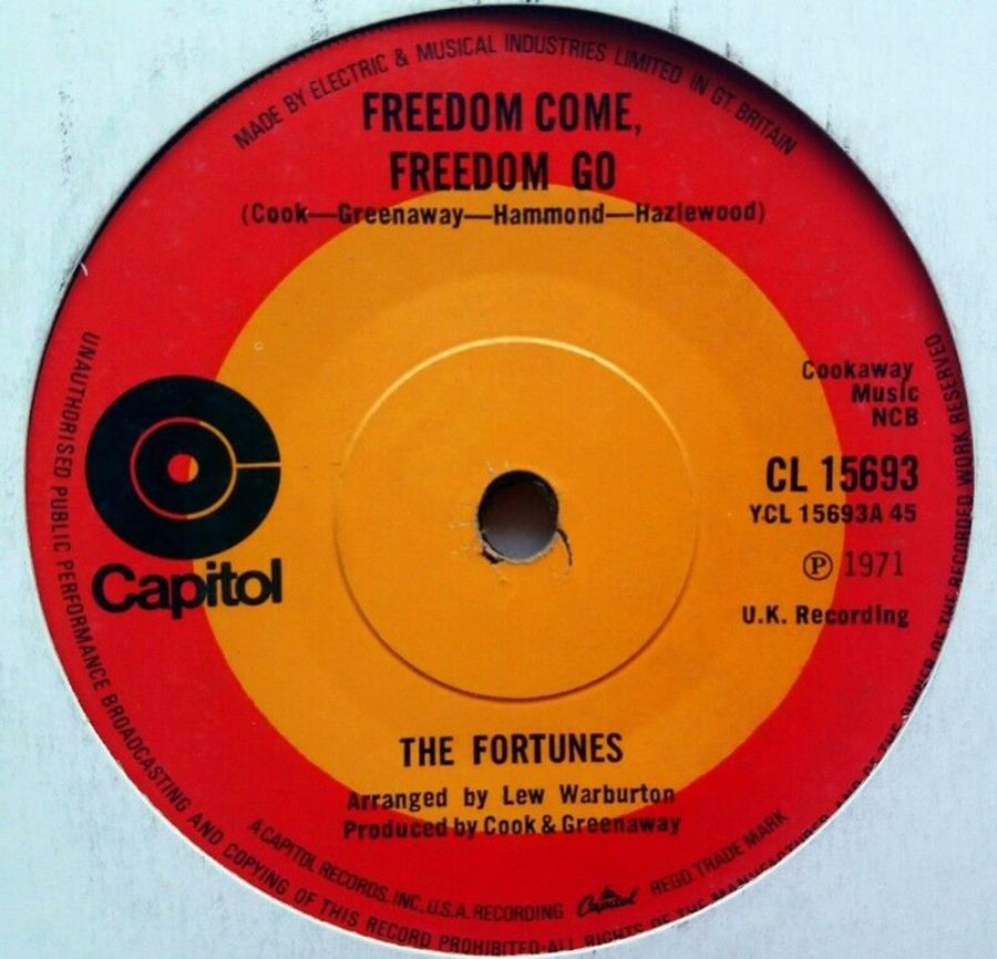 The Fortunes - Freedom Come, Freedom Go - 7