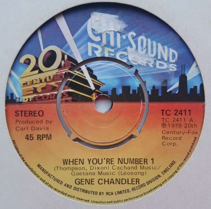 Gene Chandler - When You're Number 1 - 7