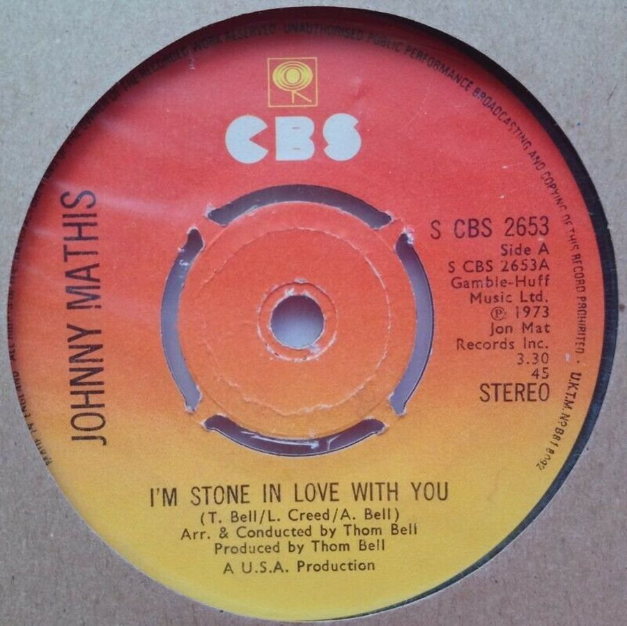 Johnny Mathis - I'm Stone In Love With You - 7