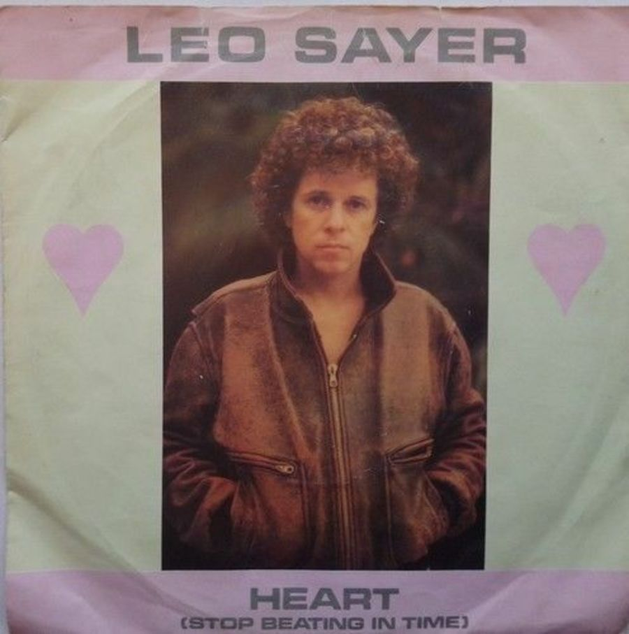Leo Sayer - Heart ( Stop Beating In Time ) - Vinyl Record 7