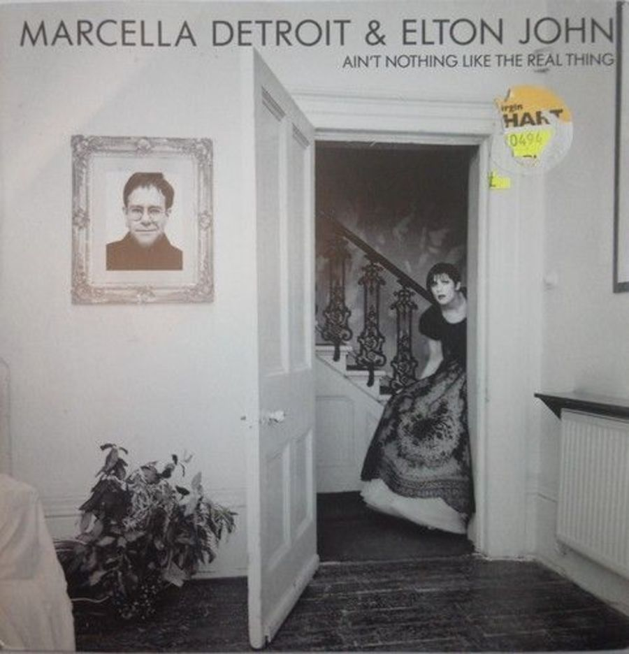 Marcella Detroit / Elton John - Ain't Nothing Like The- Vinyl Record 7