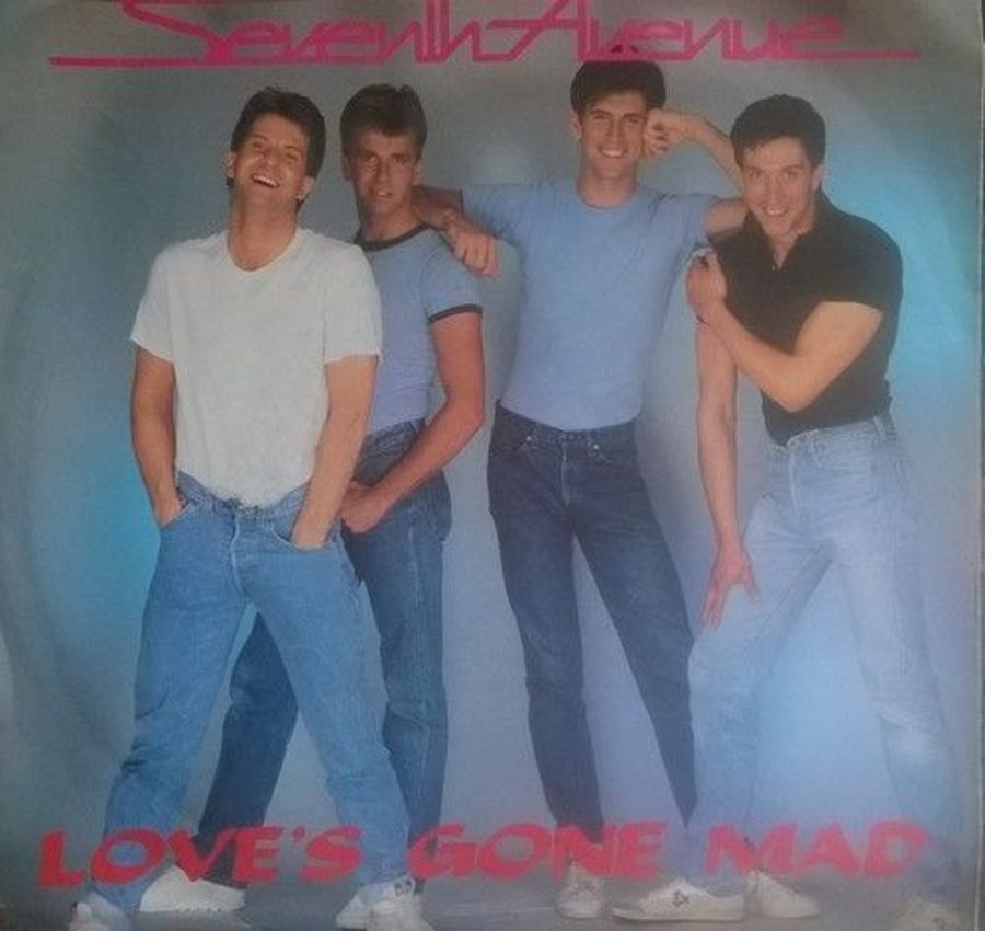 Seventh Heaven - Love's Gone Mad- Vinyl Record 7