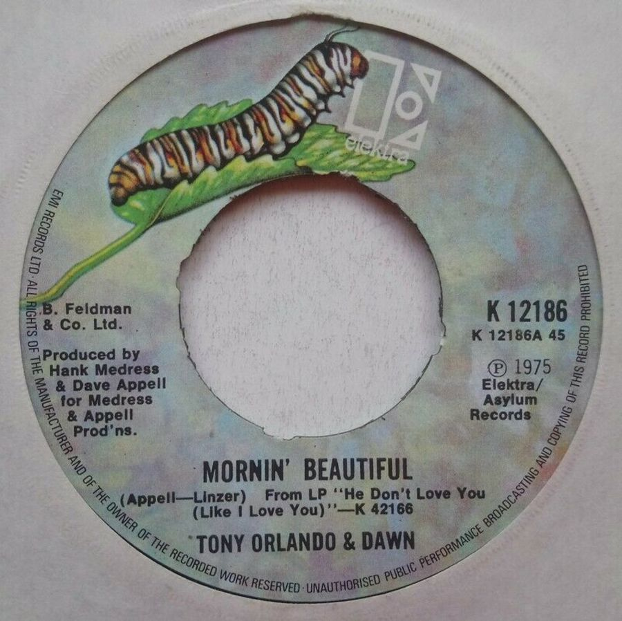 Tony Orlando & Dawn - Mornin' Beautiful 7