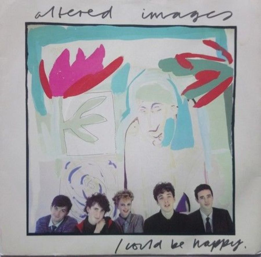 Altered Images - I Could Be Happy - Vinyl Record 7
