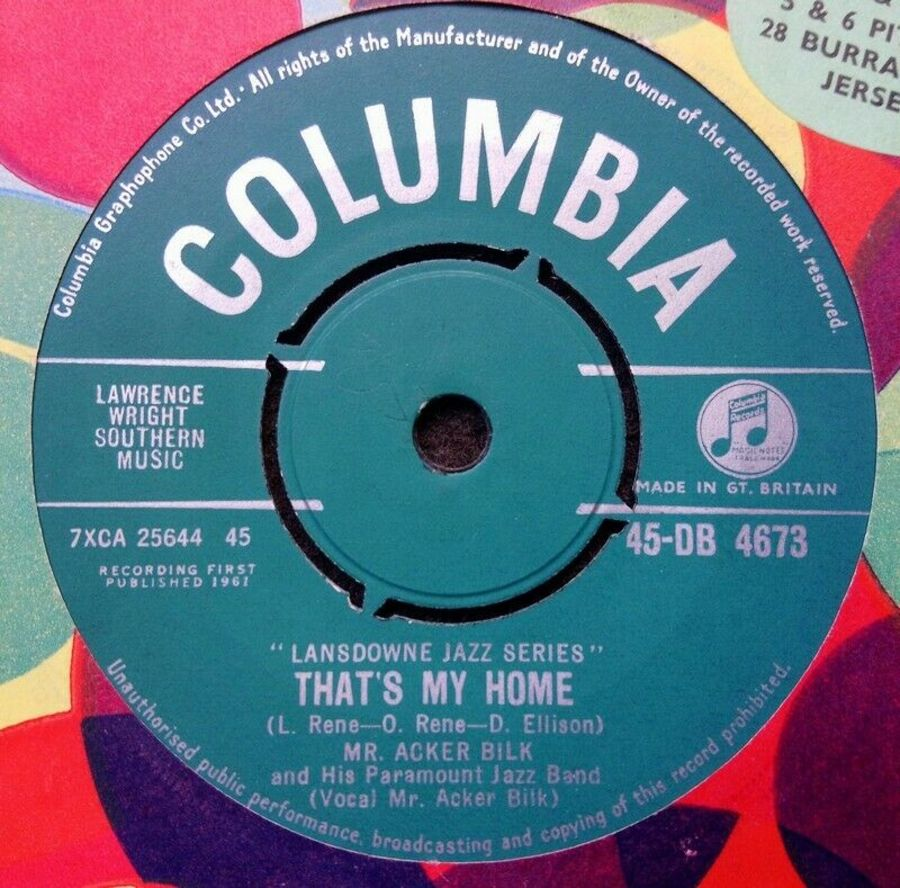 Mr Acker Bilk - That's My Home - Vinyl Record
