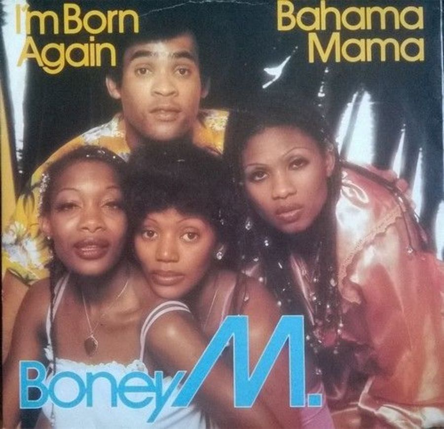 Boney M - I'm Born Again - Vinyl Record