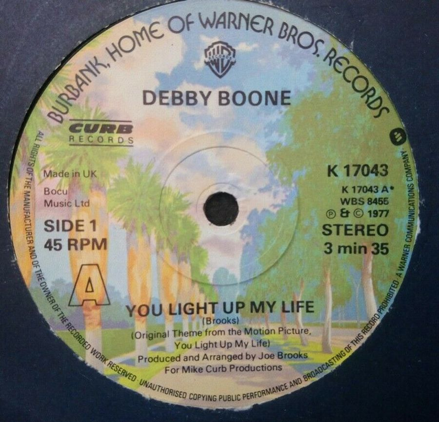 Debby Boone - You Light Up My Life - Vinyl Record 7