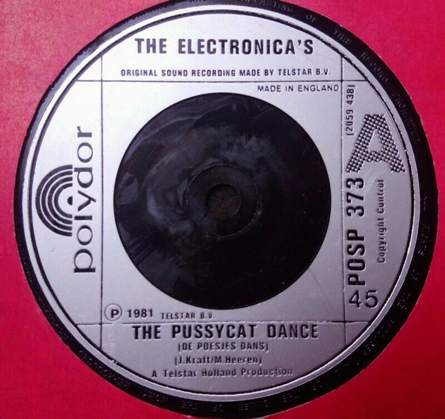 The Electronica's - The Pussycat Dance - Vinyl Record 7
