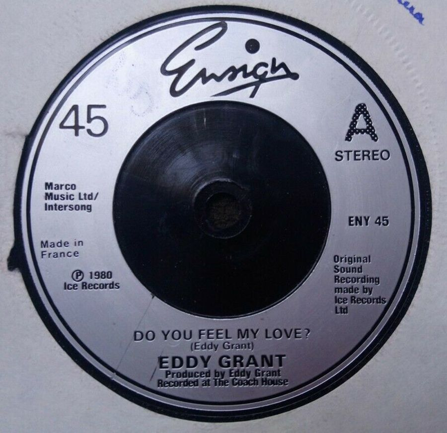 Eddy Grant - Do You Feel My Love - Vinyl Record 7