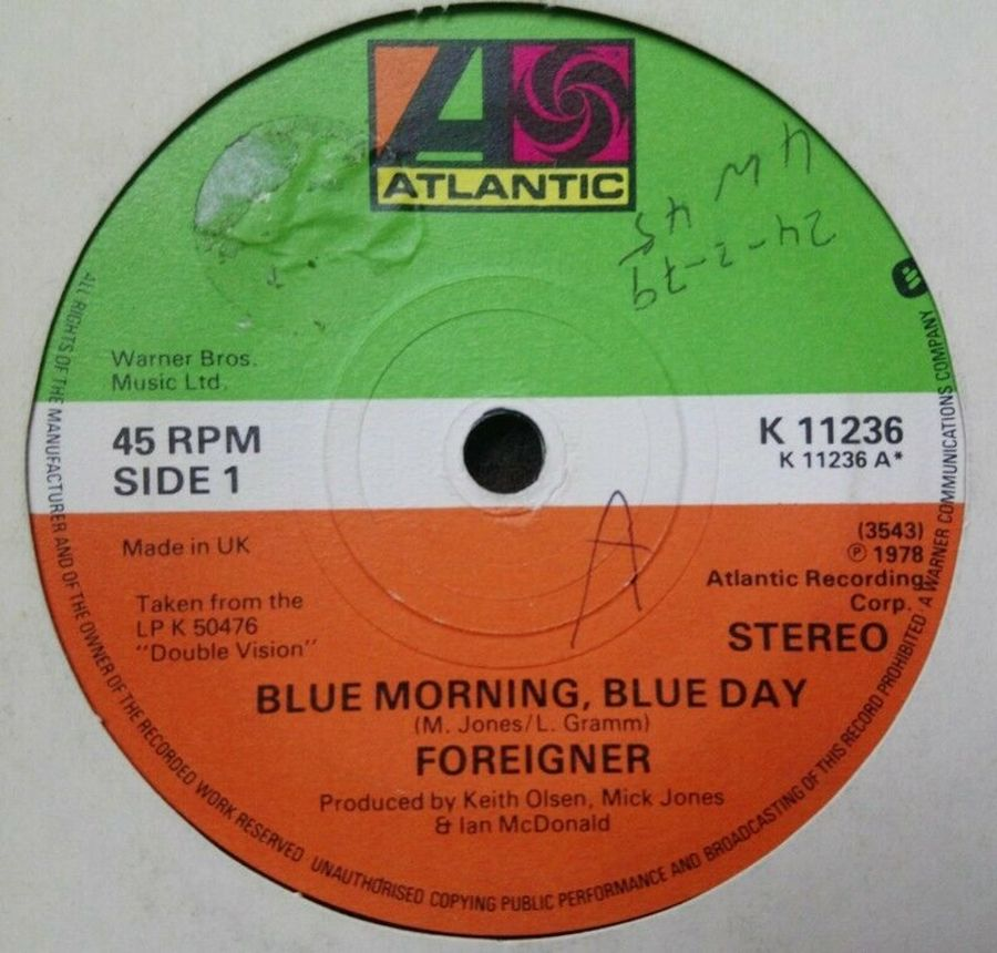 Foreigner - Blue Morning Blue Day - 7
