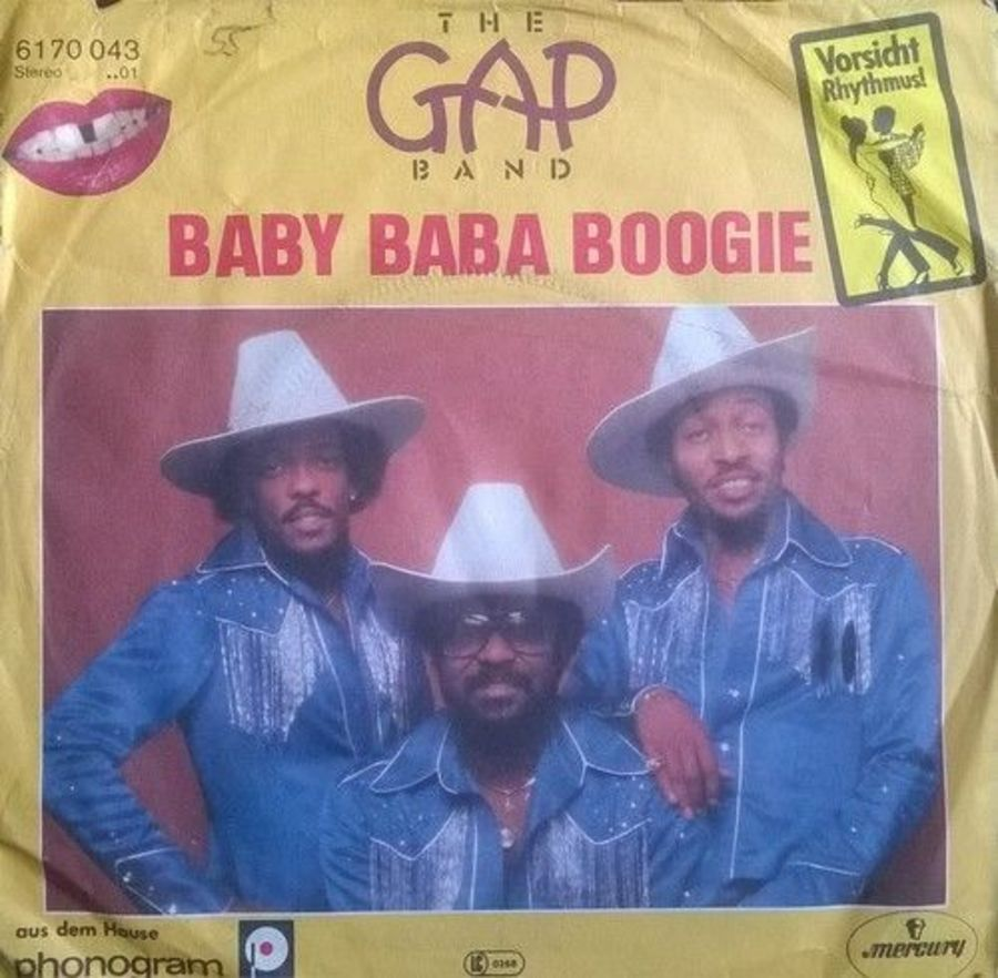Gap Band - Baby Baba Boogie - Vinyl Record