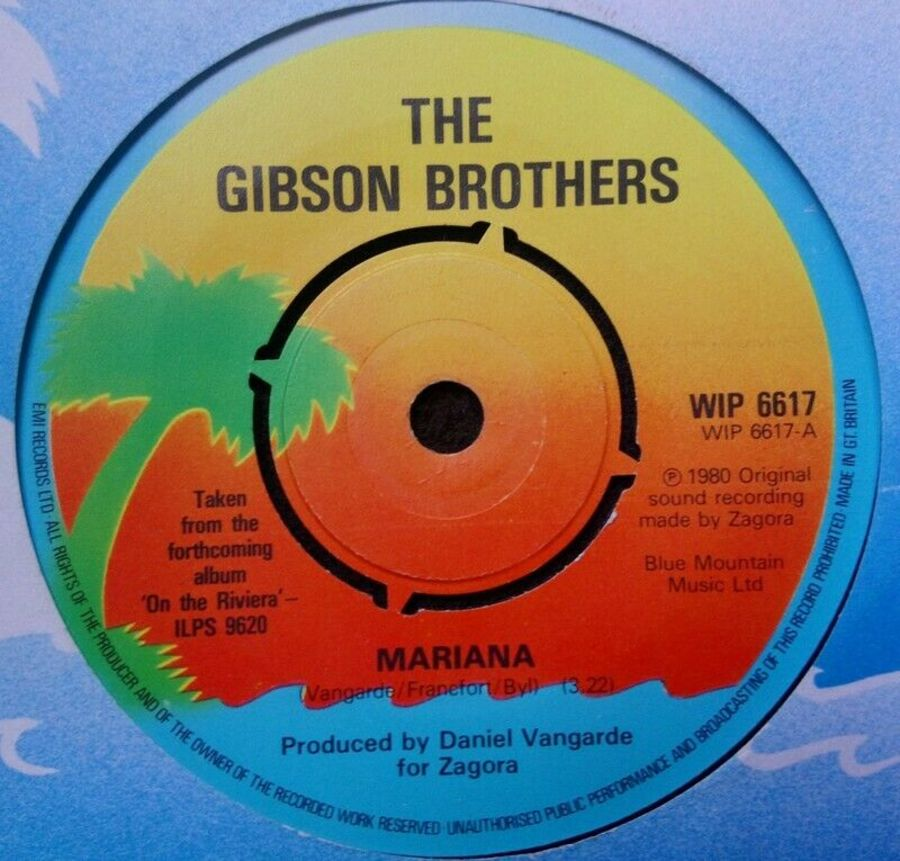 The Gibson Brothers - Mariana - Vinyl Record