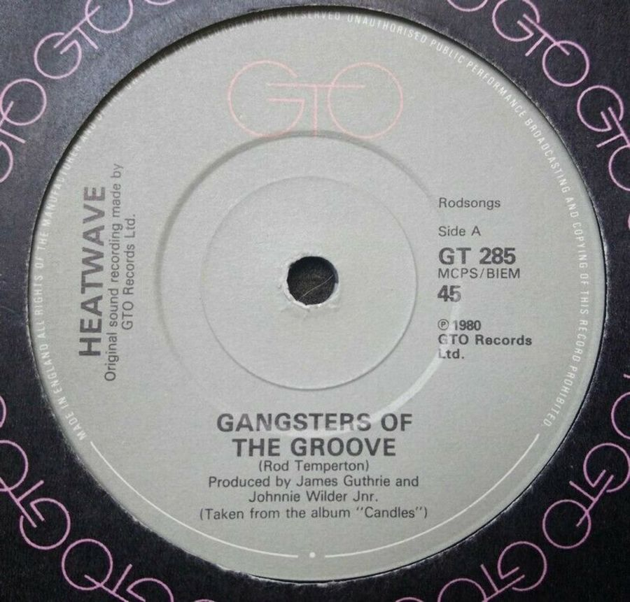 Heatwave - Gangsters Of The Groove - Vinyl Record 7