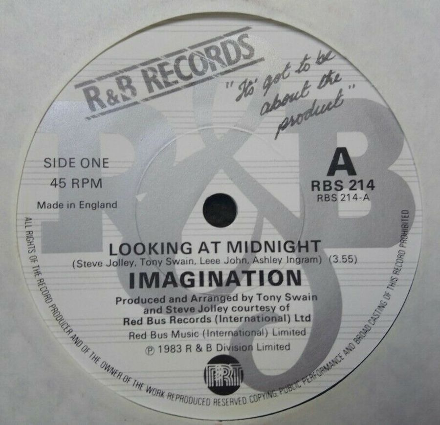 Imagination - Looking At Midnight - Vinyl Record 7