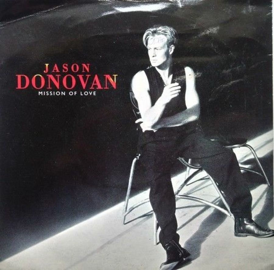 Jason Donovan - Mission Of Love - Vinyl Record 7