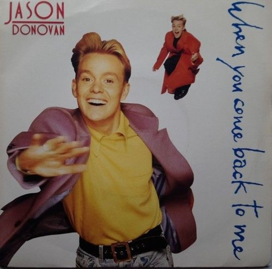 Jason Donovan - When You Come Back To Me - Vinyl Record 7