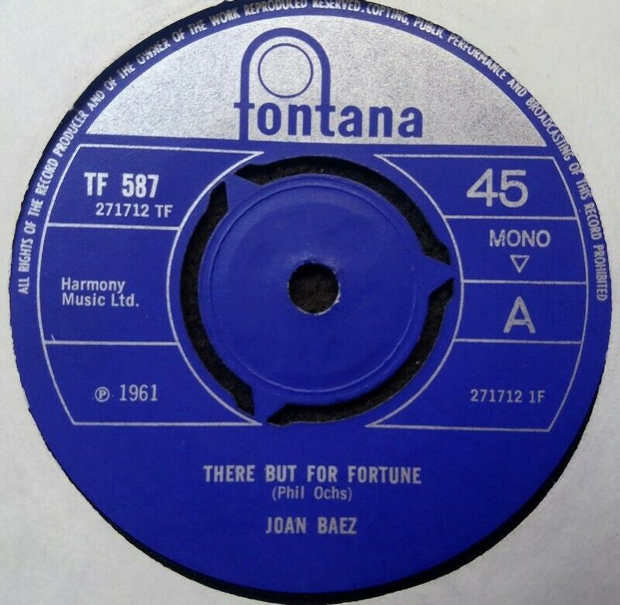 Joan Baez - There But For Fortune - Vinyl Record