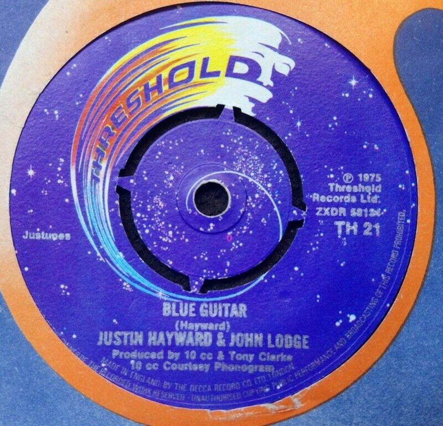 Justin Hayward & John Lodge - Blue Guitar - Vinyl Record 7