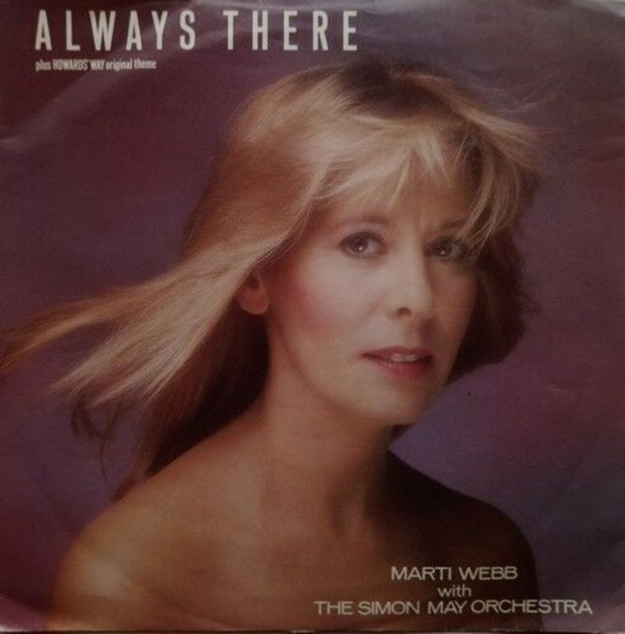 Marti Webb - Always There - Vinyl Record 7