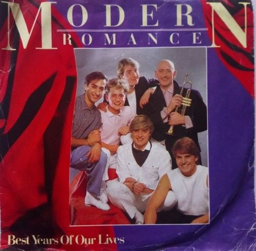 Modern Romance - Best Years Of Our Lives - Vinyl Record 7
