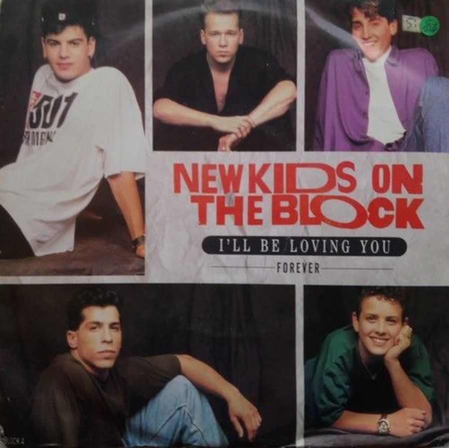 New Kids On The Block - I'll Be Loving You - Vinyl Record 7
